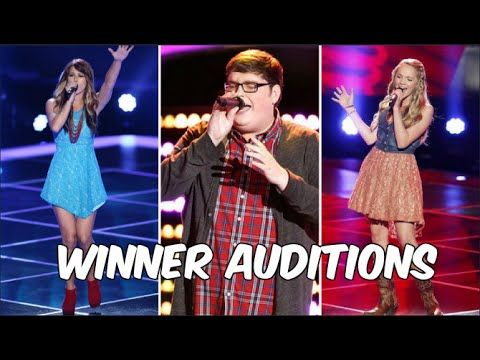 The ultimate compilation of all The Voice winners' first auditions! Winners from season 1 to season 10 are featured in the video! Be sure to like, comment, a...