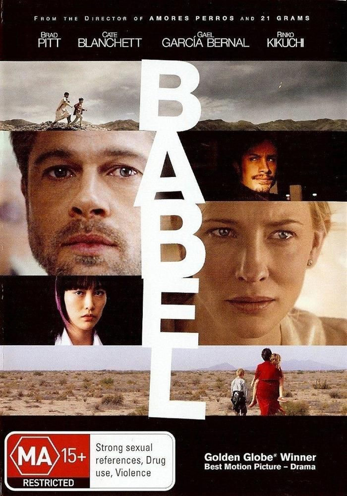 Babel (DVD, 2007) New In Shrink Wrap. #DVD #Movies