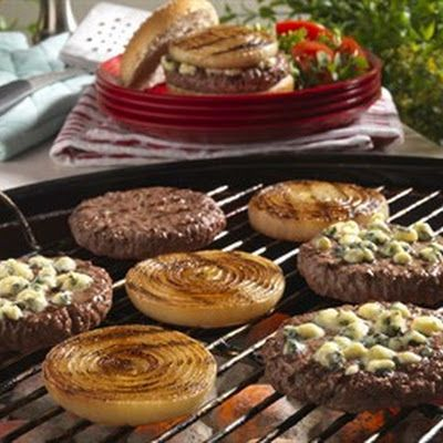 GRILLED ONION CHEESEBURGERS | recipes to try | Pinterest