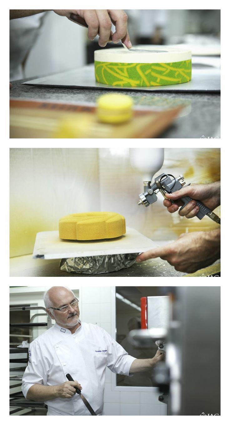 """Making of del libro """"La Torta Perfecta"""" de Osvaldo Gross, en el IAG."""