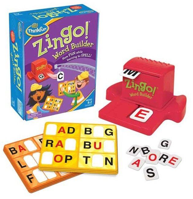 Thinkfun - Game Zingo Word Builder