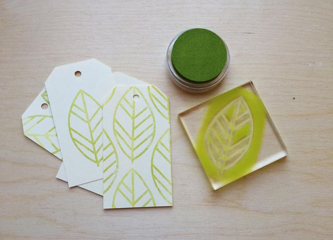 Stamped Gift Tags | DIY STAMP by Brittany Sazonoff