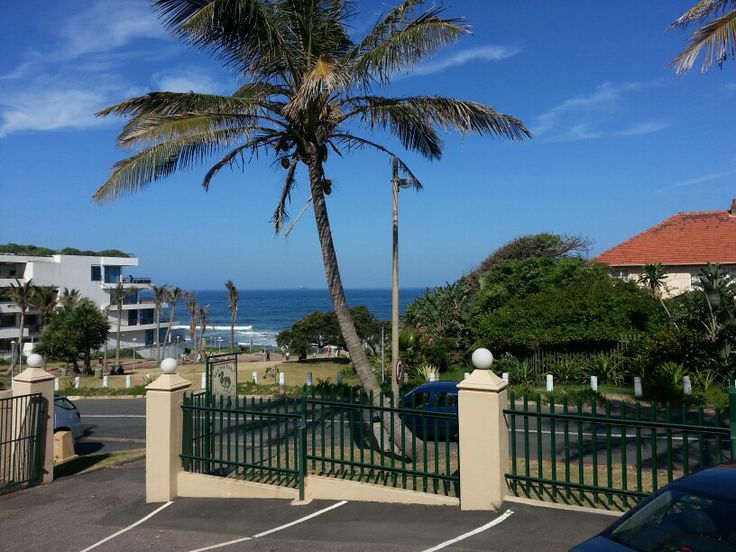 View from Ile Maurice Restaurant,  Umhlanga Rocks, Durban