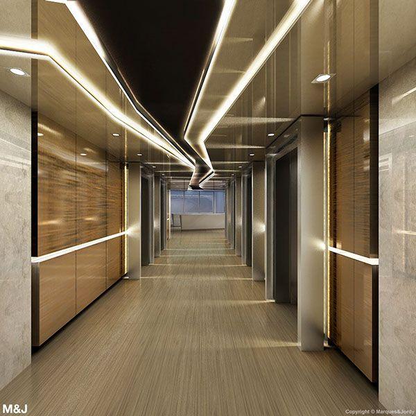 Best Corridor Design: LIFT LOBBY Images On Pinterest