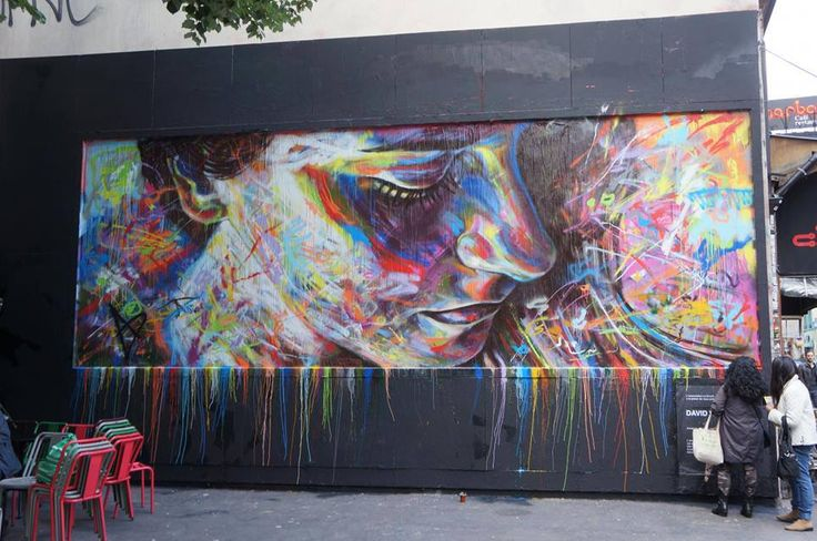 ind and share streetart spots from all around the world! By Art Of David#Walker. In Paris, France.