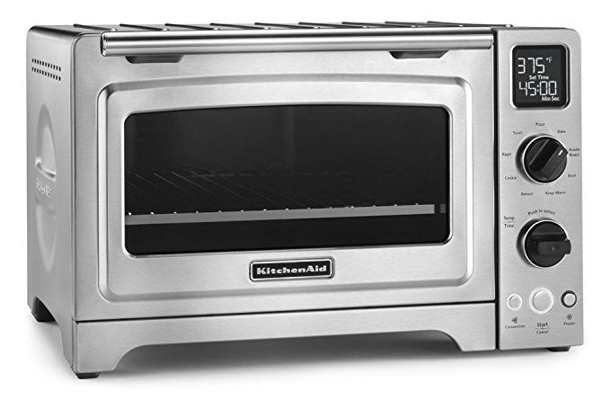 Kitchenaid Kco273ss 12 Convection Bake Digital Countertop Oven Stainless Steel With Images Kitchen Countertop Appliances Countertop Convection Oven Countertop Oven