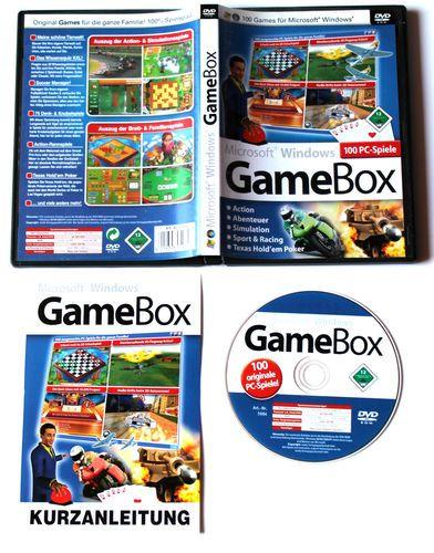 Microsoft Windows GameBox 100 PC-Spiele für PC