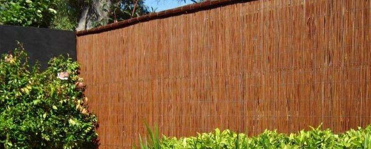 Fern Reed (Natureed ®) Bamboo Screens #BamboScreens #BambooFencing #Fencing #Natural