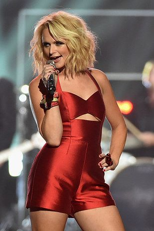 She proves that you don't have to be a toothpick to be healthy, happy and hot as hell. | 21 Reasons Miranda Lambert Is A Seriously Badass Role Model