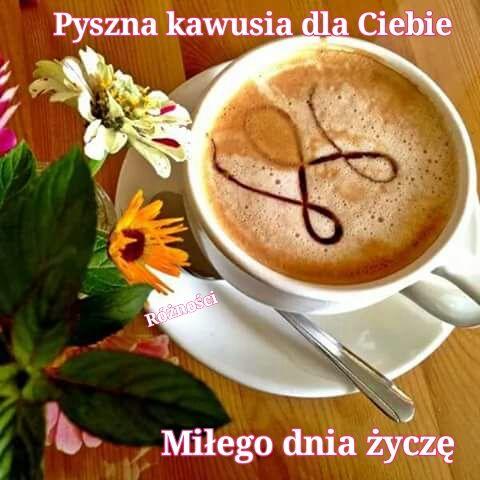 Pyszna kawusia dla Ciebie Miłego dnia życzę #milegodnia