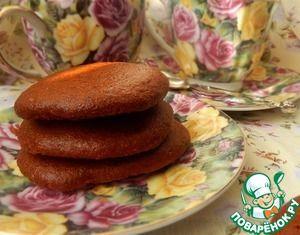 Бананово-карамельное печенье