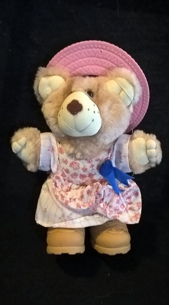 Xavier Roberts Furskins Country girl bear from by RetroZombie74