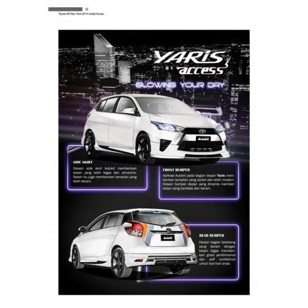 Bodykit Toyota All New Yaris