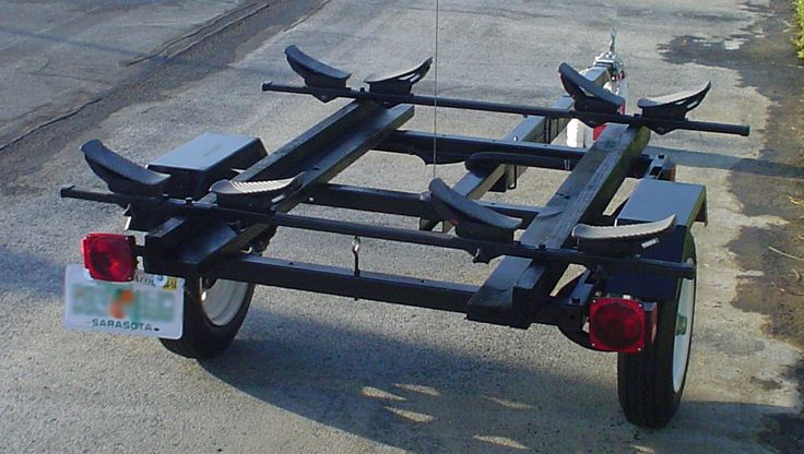 kayak trailer - sans kayaks