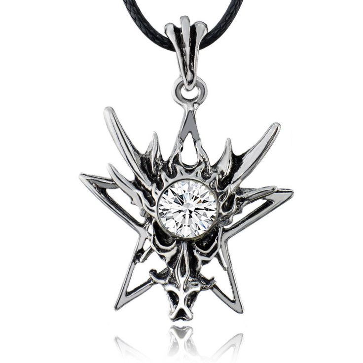 Dragon Star Pendant Necklace