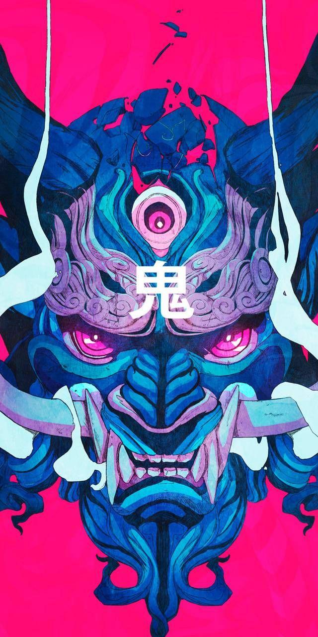 Mobile And Desktop Wallpaper Hd Arte Samurai Mascaras De Arte Tatuagens De Anime