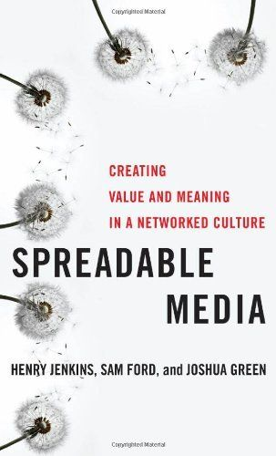 Spreadable Media: Creating Value and Meaning in a Networked Culture by Henry Jenkins, http://www.amazon.com/dp/0814743501/ref=cm_sw_r_pi_dp_P-mbrb1G0A5WA