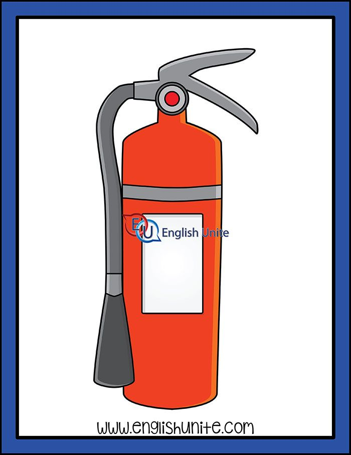 Firefighters Fire Extinguisher English Unite Fire Art Clip Art Fire Extinguisher