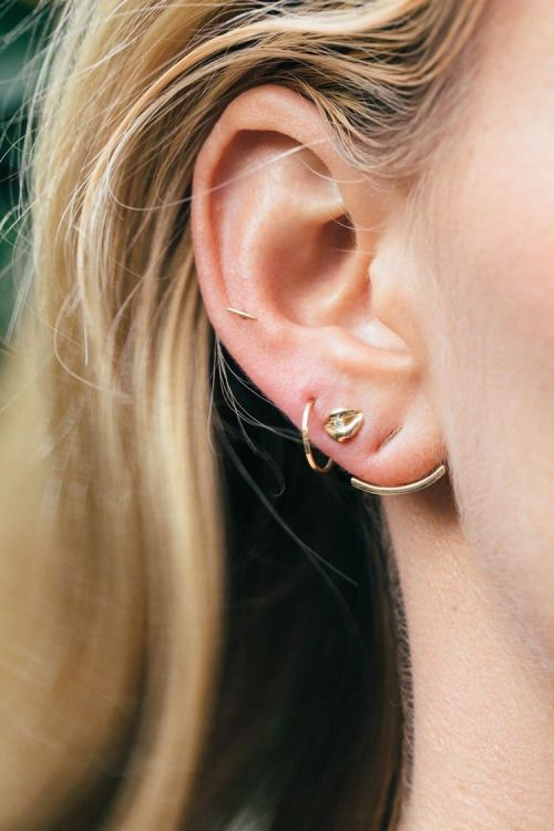 #Fine #Gold #Earrings