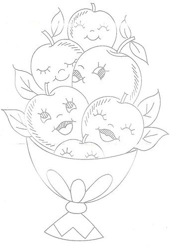 Design 7228 - Apples | by Beetastic