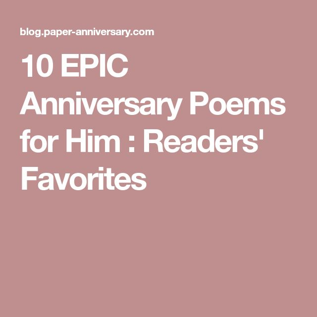 The 25+ best Anniversary poems ideas on Pinterest | Anniversary ...