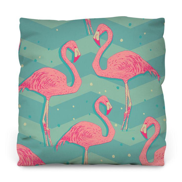 Cupro Skirt - Pink flamingos on black by VIDA VIDA Shop Offer PDf6yTycf