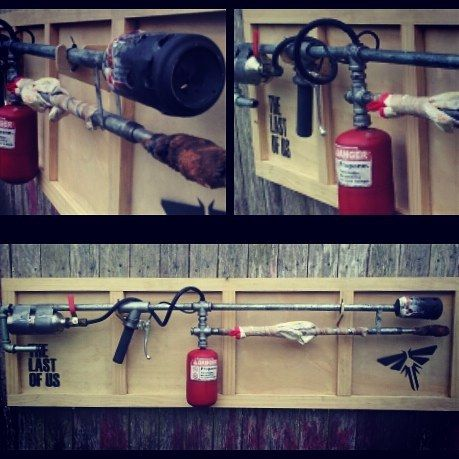 Replica flame thrower prop from The Last Of Us #replica #prop #thelastofus #flame #thrower