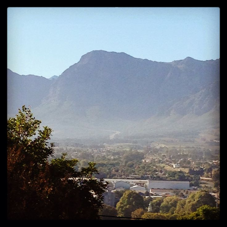 Paarl with a view