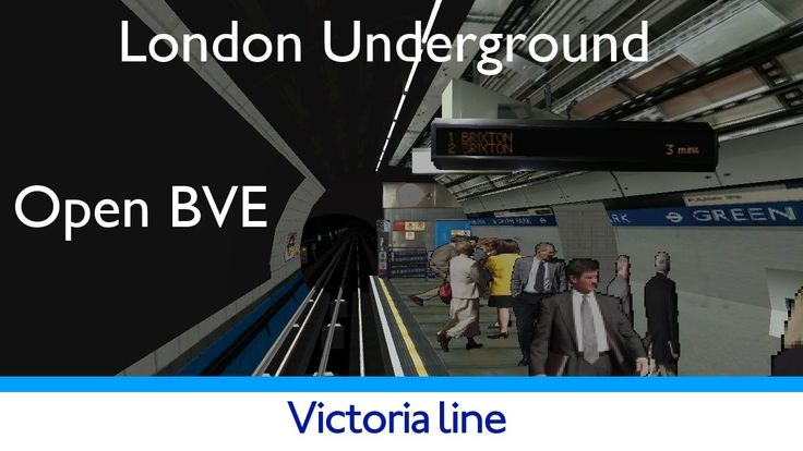 London Underground Simulator Victoria Line #tfl #tube #londonunderground #london #simulation #gaming
