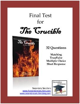 The Crucible  Act II Reading and Study Guide