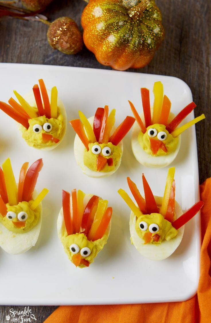 deviled-egg-turkeys-so-cute-for-thanksgiving