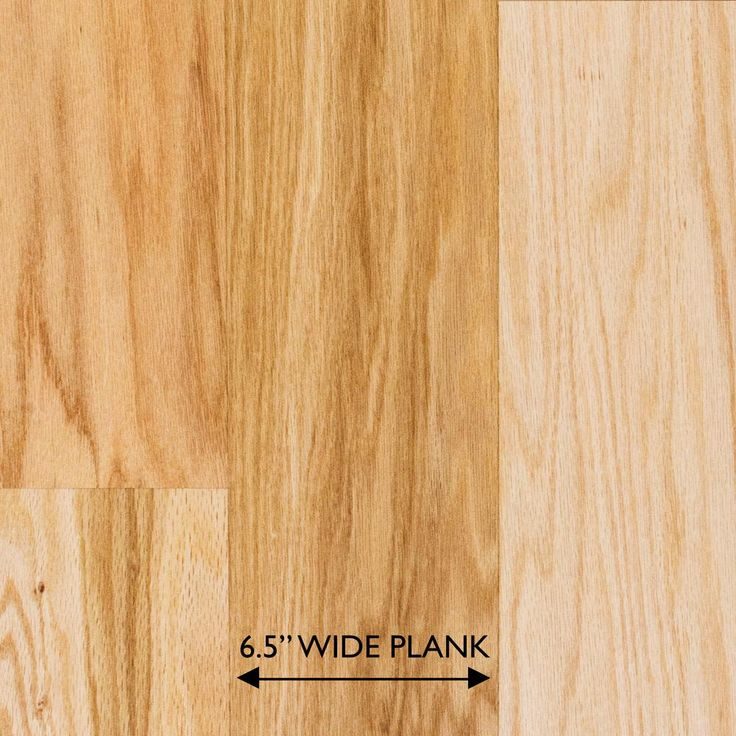Heritage Mill Red Oak Natural 3/8 in. Thick x 61/2 in