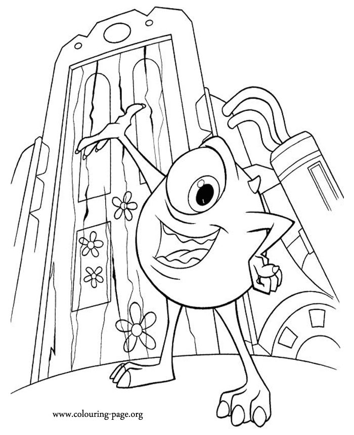 color pages inc - 46 best images about disney coloring pages on pinterest