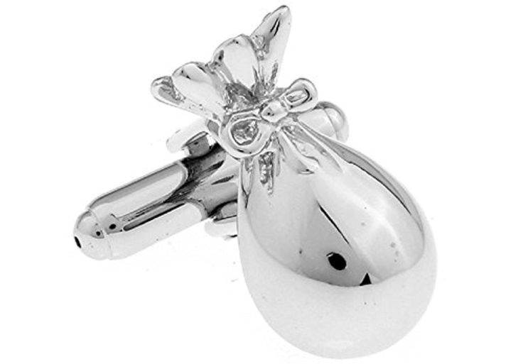 Inspire Jewelry Mens Money Bank Bag Cufflinks with Presentation Gift Box Suit Wedding Business - Brought to you by Avarsha.com