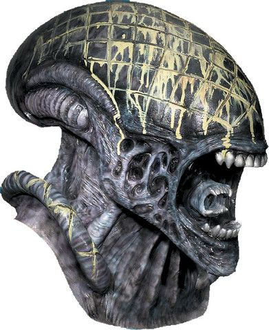 ALIEN Collectible Deluxe Full Over The Head Realistic Halloween MASK
