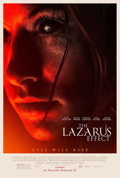 First Poster and Image of Olivia Wilde in Lazarus Effect