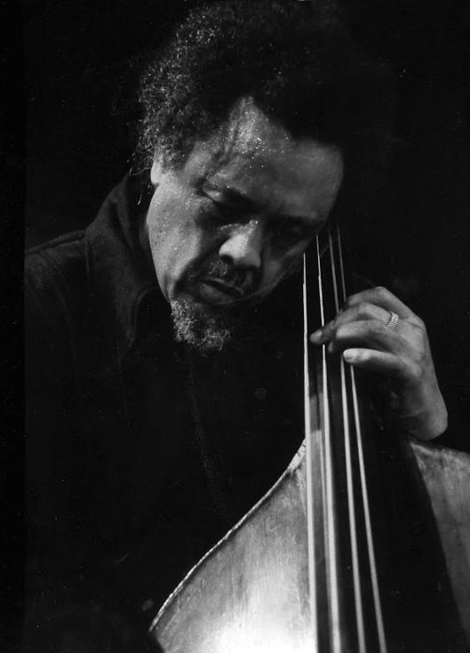 Influential American jazz double bassist, composer and bandleader, Charles Mingus. photo by Tom Copi