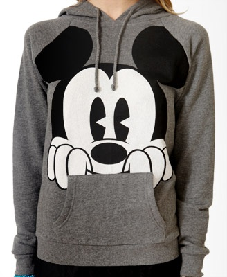 Perched Mickey Mouse® Hoodie | FOREVER21 - 2018251681