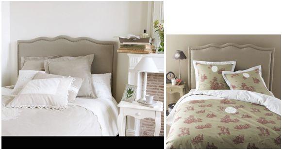 testate letto maison du monde idee per il design della casa. Black Bedroom Furniture Sets. Home Design Ideas