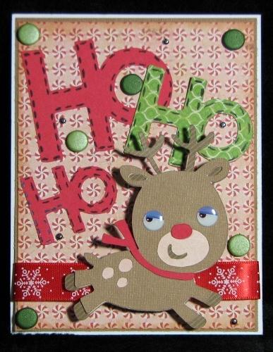 "CREATE A CRITTER Reindeer p. 73 cut @ 3 1/2""  CREATE A CRITTER 2 ""Ho Ho Ho"" p. 66 cut @ 3 1/2"""