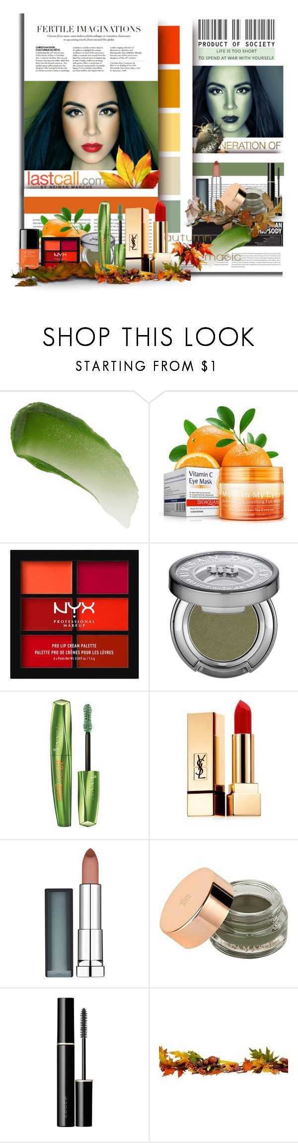 """""""BEAUTY MARK"""" by angelflair ❤ liked on Polyvore featuring beauty, Vila Milano, Oris, Lipstick Queen, NYX, Urban Decay, Rimmel, Yves Saint Laurent, Maybelline and Illamasqua"""