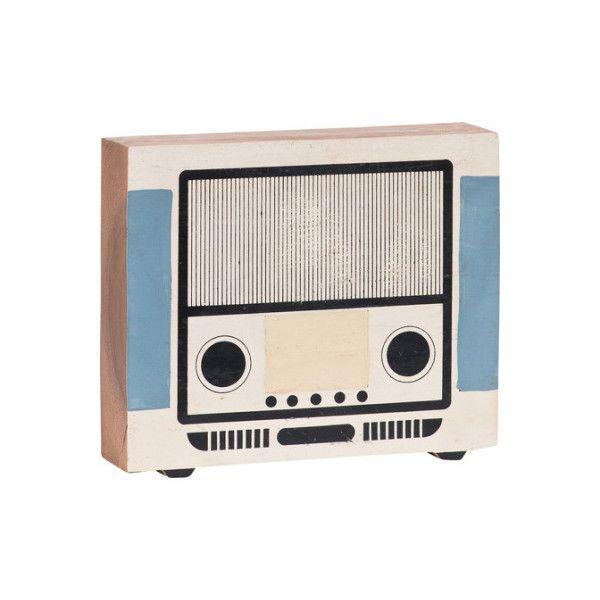 Drevené rádio pre deti Vox Kids
