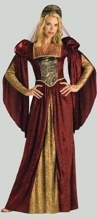 Женский костюм эпохи раннего возрождения
