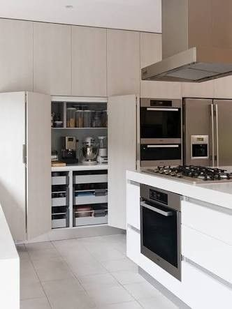 combined appliance cb/pantry. Ours could be a mirrored version