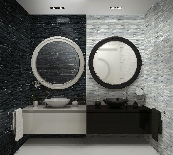 Nyhet hos Stonefactory! Konradssons Quartz svart stavmosaik | Stonefactory.se #kakel #inredning #design