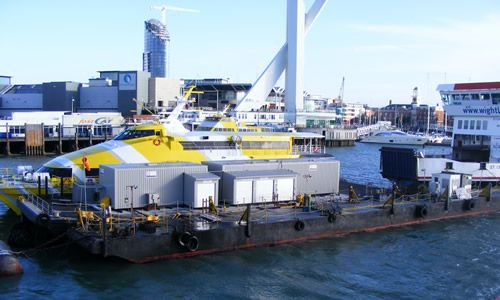Wightlink Ferries Fuel Pontoon Case Study