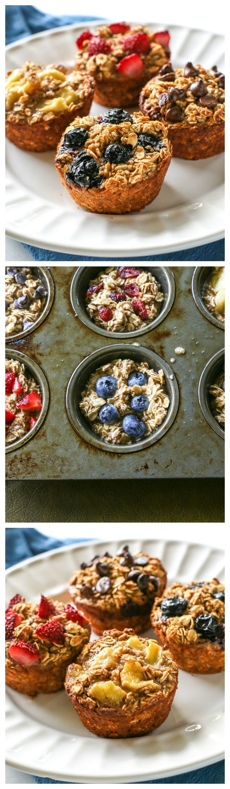 Healthy Oatmeal Cups that can be personalized for every member of your family!: