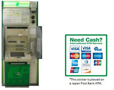 ATM guide - link to Visa's ATM finder