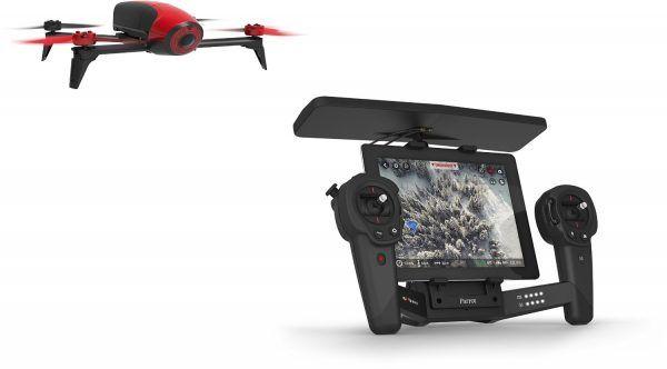 [MEGA] Drone Parrot Bebop 2  Skycontroller à 374  Bonjour  Excellent bon plan pour le Drone Parrot Bebop 2  Skycontrollerqui est proposé à 374 au lieu de plus de 500 habituellement.  Drone Parrot Bebop 2  Skycontroller à 374  Cadeau Top pour Noel !  Voir ICI toutes les ventes flash sur Amazon France.  Description du produit  Le Bebop 2 associe aérodynamisme style et robustesse dans un drone léger et compact. Le Skycontroller décuple les possibilités du Bebop 2 et propose des commandes…