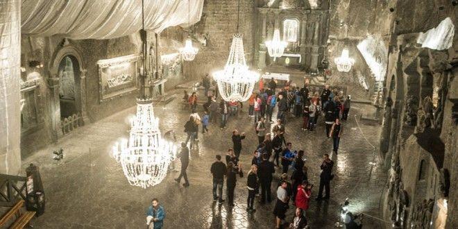 Minas de sal de Wieliczka, Polônia